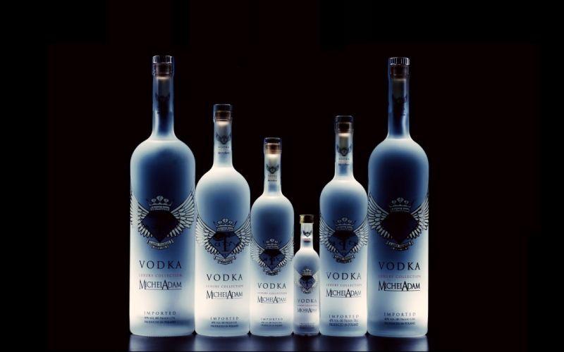 Bottles Vodka Glass Alcohol BRAND wallpaper