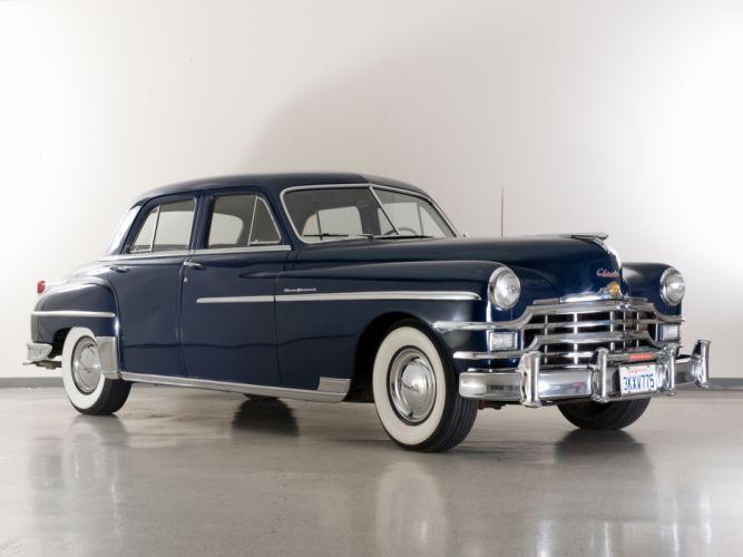 1949 Chrysler New Yorker Sedan retro wallpaper