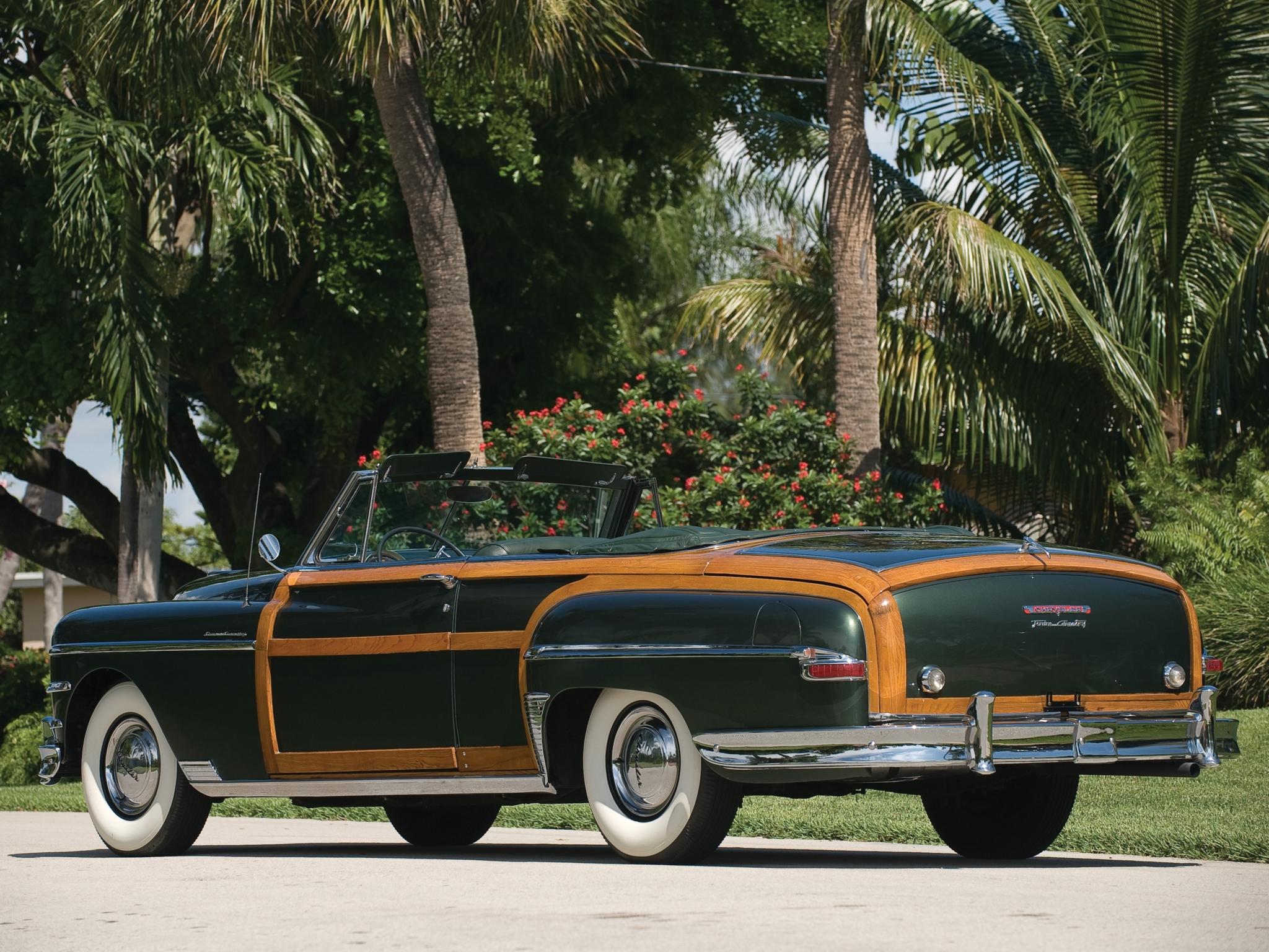 1949 Chrysler Town Country Convertible Retro F Wallpaper 2048x1536 122454 Wallpaperup