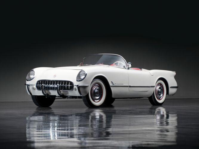 1953 Chevrolet Corvette C1 retro supercar supercars muscle he wallpaper