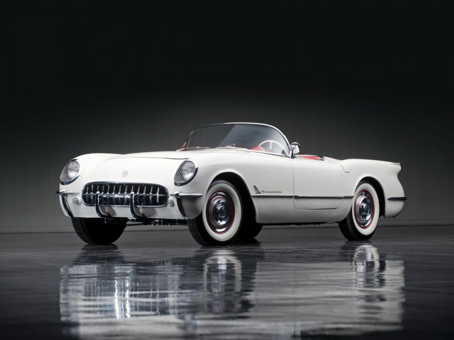 1953 Chevrolet Corvette C1 retro supercar supercars muscle    he wallpaper