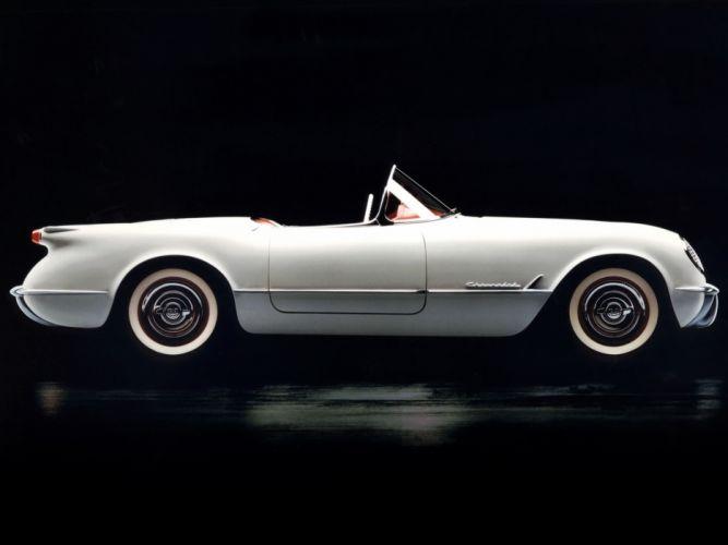 1953 Chevrolet Corvette C1 retro supercar supercars muscle h wallpaper