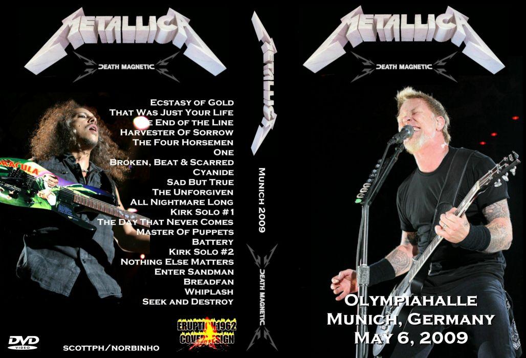 METALLICA thrash heavy metal       as wallpaper