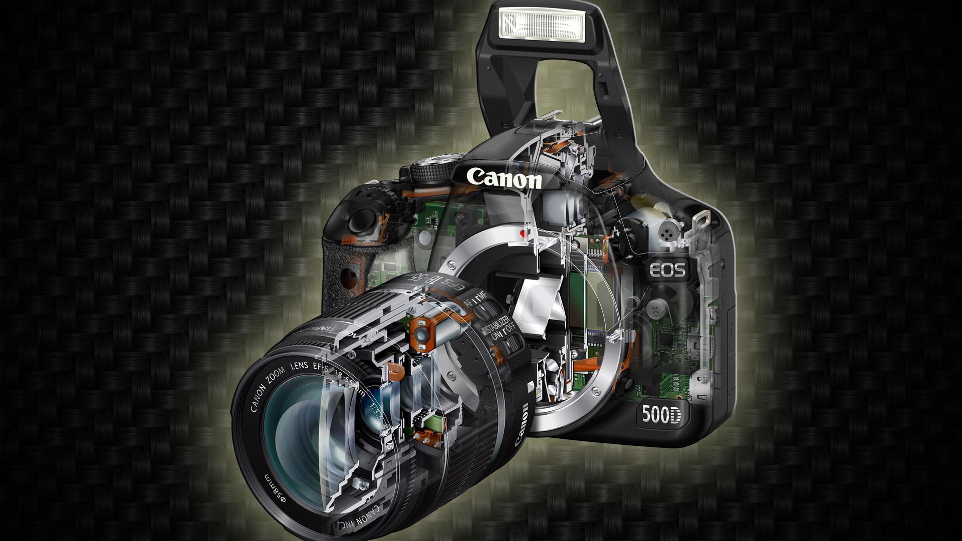 Canon Camera Wallpaper