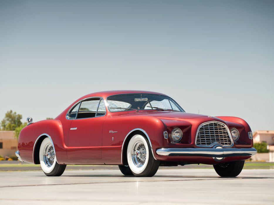 1953 Chrysler D-Elegance Concept retro supercar supercars      fw wallpaper