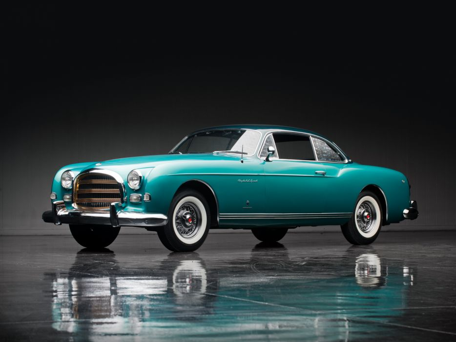 1954 Chrysler GS-1 Coupe Concept retro        d wallpaper