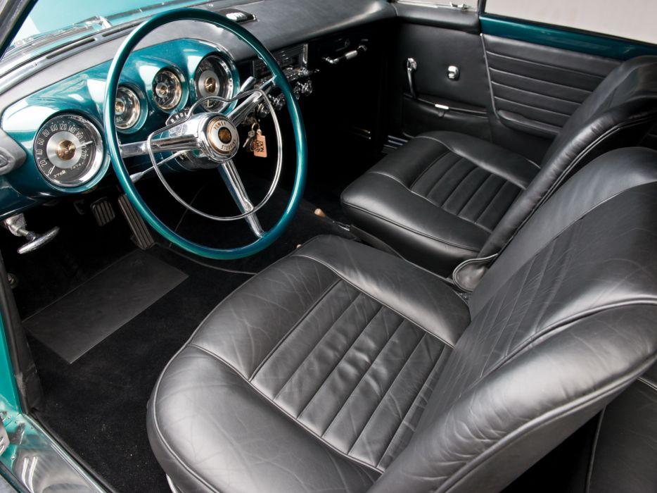 1954 Chrysler GS-1 Coupe Concept retro interior       d wallpaper
