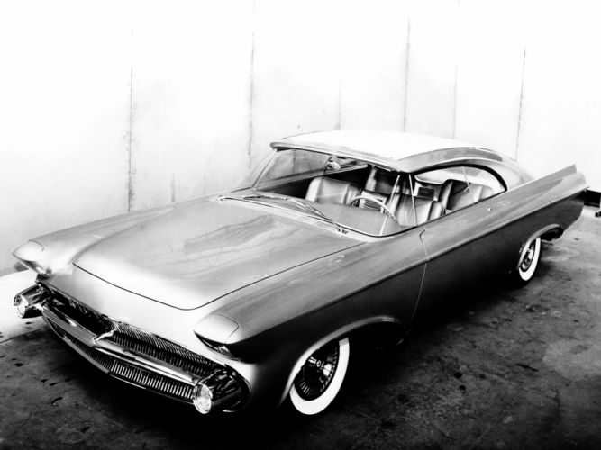 1956 Chrysler Norseman Concept Car retro wallpaper