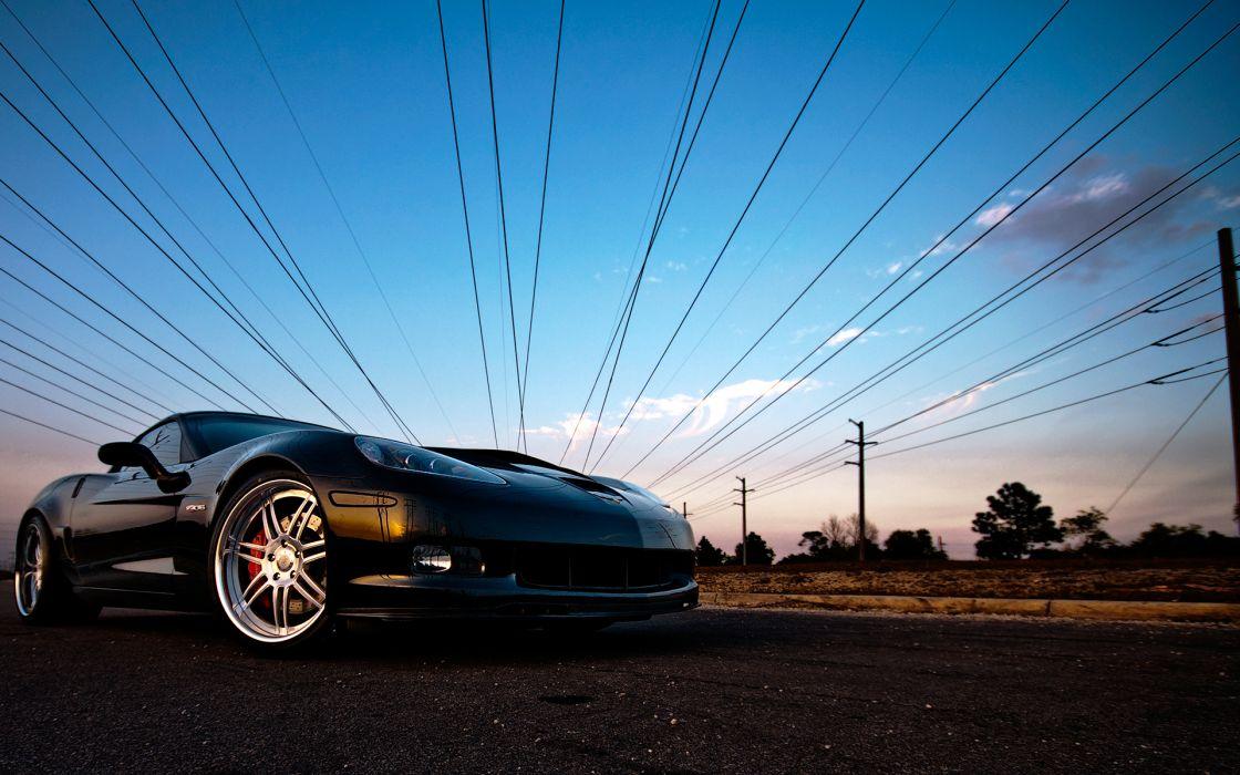 Chevrolet Corvette muscle supercar supercars wallpaper