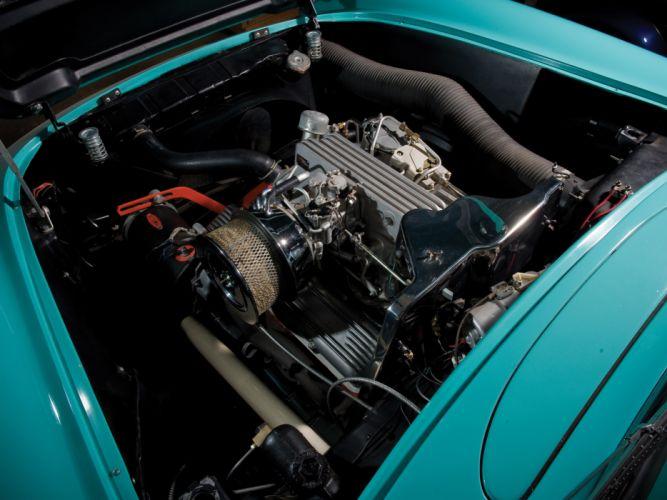1957 Chevrolet Corvette C-1 Fuel Injection retro muscle supercar supercars engine engines w wallpaper