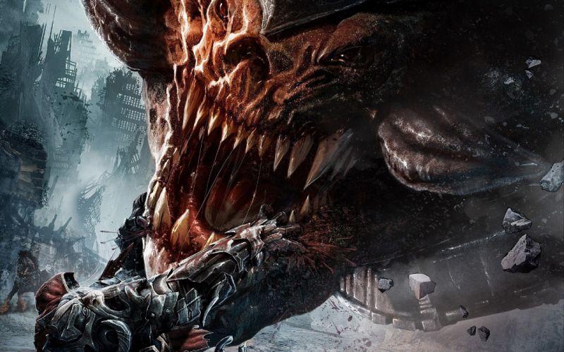 Darksiders Monster Teeth wallpaper