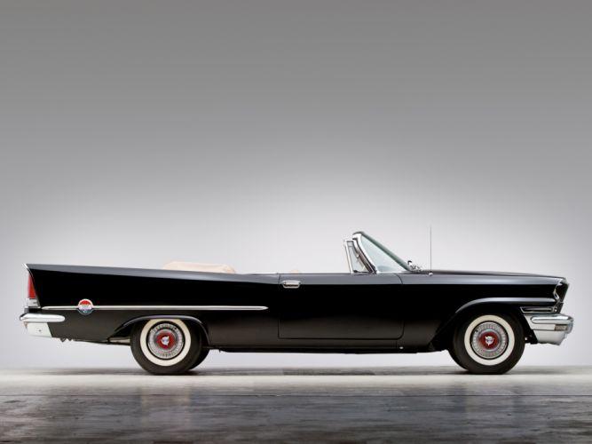 1957 Chrysler 300C Convertible luxury retro f wallpaper