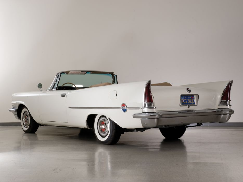 1957 Chrysler 300C Convertible luxury retro g wallpaper
