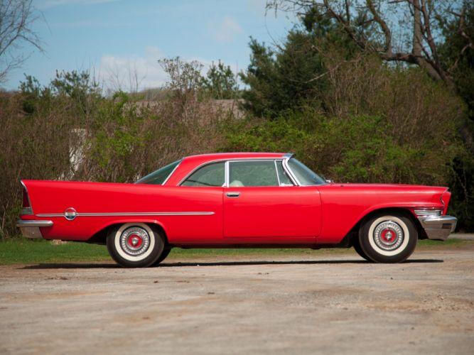 1957 Chrysler 300C Hardtop Coupe retro luxury wallpaper