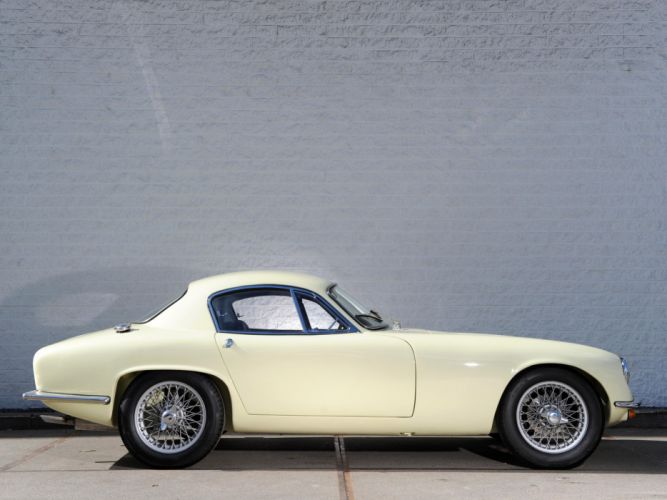 1957 Lotus Elite retro f wallpaper