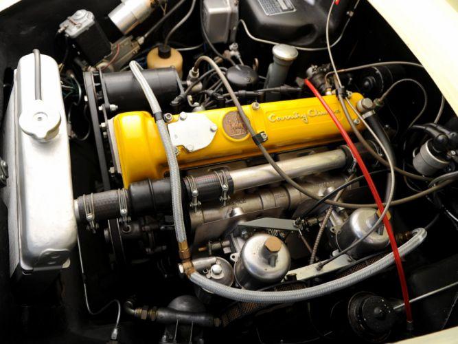 1957 Lotus Elite retro engine engines wallpaper