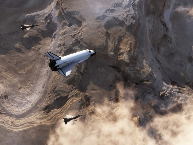 f16 fighting falcon space shuttle discovery nasa jet jets military wallpaper