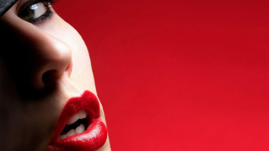 face mood style lips wallpaper