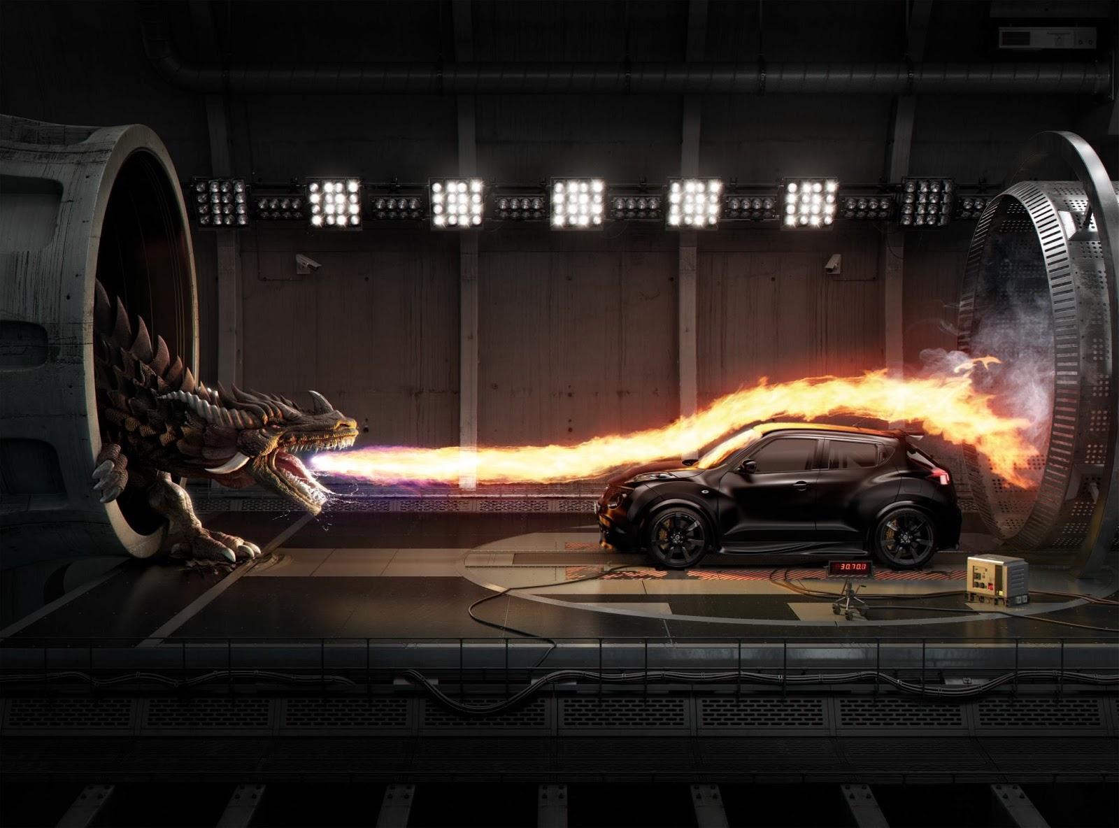 Fantasy Dragon Dragons Car Fire Wallpaper X - Cool cars on fire