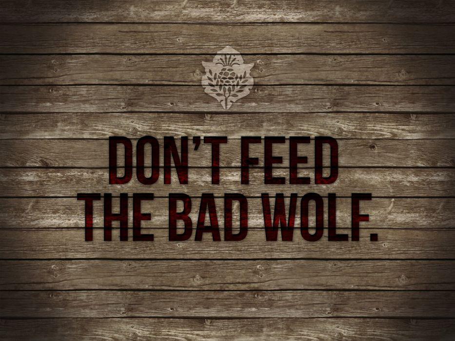 Feed Wolf Wood wallpaper
