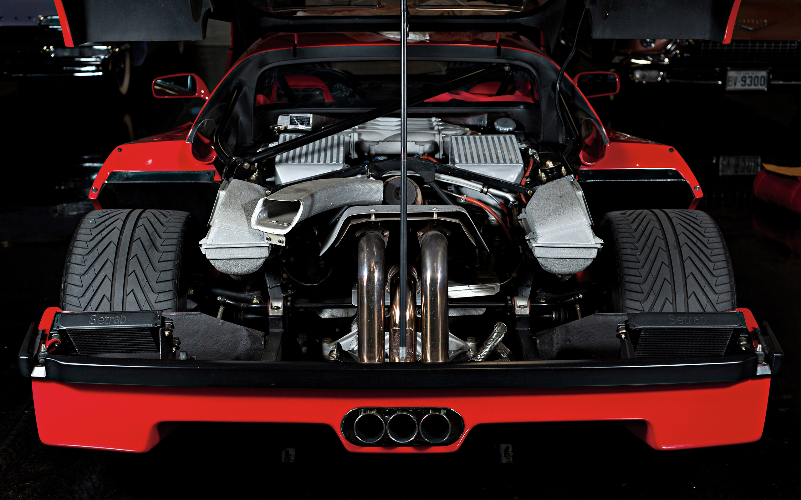 Awesome Ferrari F40 Engine Engines Supercar Supercars Wallpaper | 2560x1600 |  122753 | WallpaperUP
