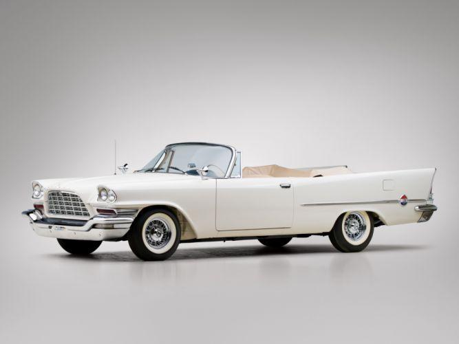 1958 Chrysler 300D Convertible luxury retro f wallpaper
