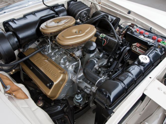1958 Chrysler 300D Convertible luxury retro engine engines d wallpaper