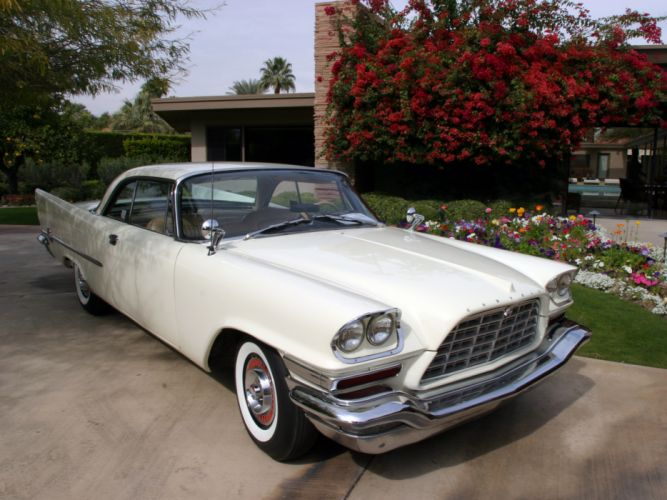 1958 Chrysler 300D Hardtop Coupe luxury retro d wallpaper