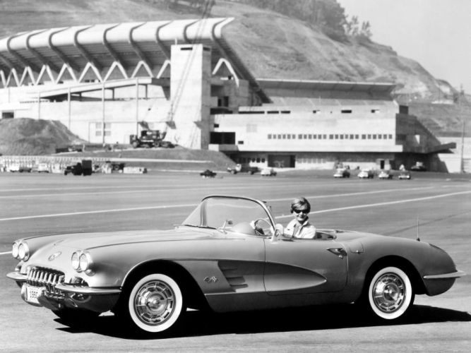 1959 Chevrolet Corvette C-1 retro supercar supercars muscle d wallpaper