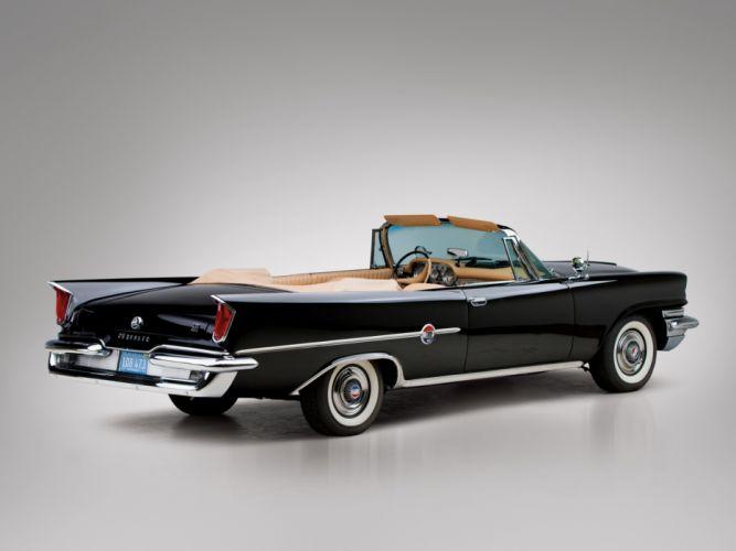 1959 Chrysler 300Do Convertible luxury retro f wallpaper