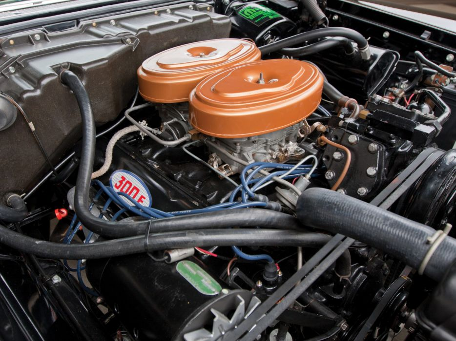 1959 Chrysler 300Do Convertible luxury retro engine engines       d wallpaper