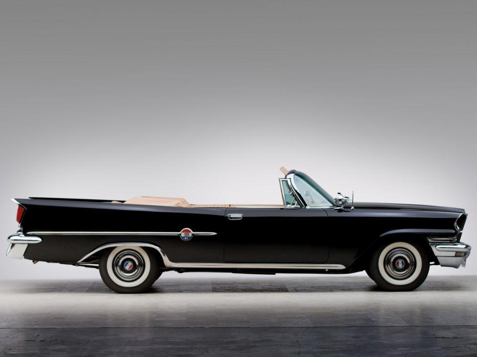 1959 Chrysler 300Do Convertible luxury retro wallpaper