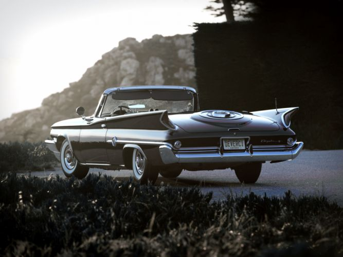 1960 Chrysler 300F Convertible retro f wallpaper