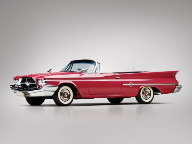 1960 Chrysler 300F Convertible retro f wallpaper