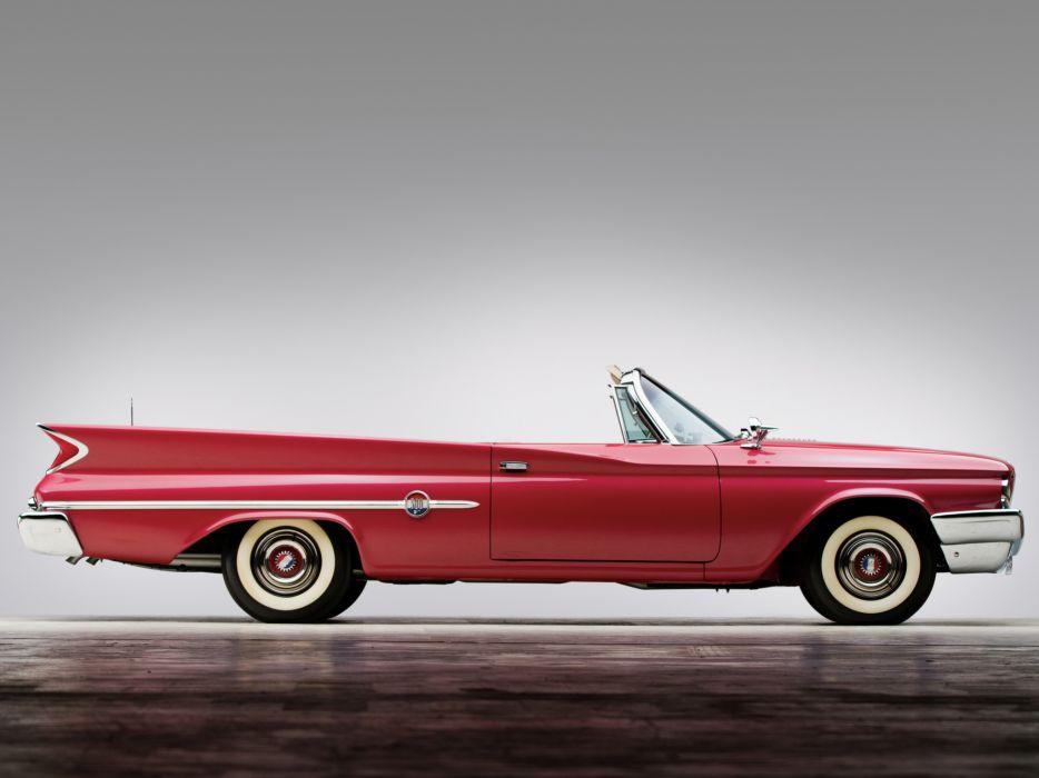 1960 Chrysler 300F Convertible retro wallpaper