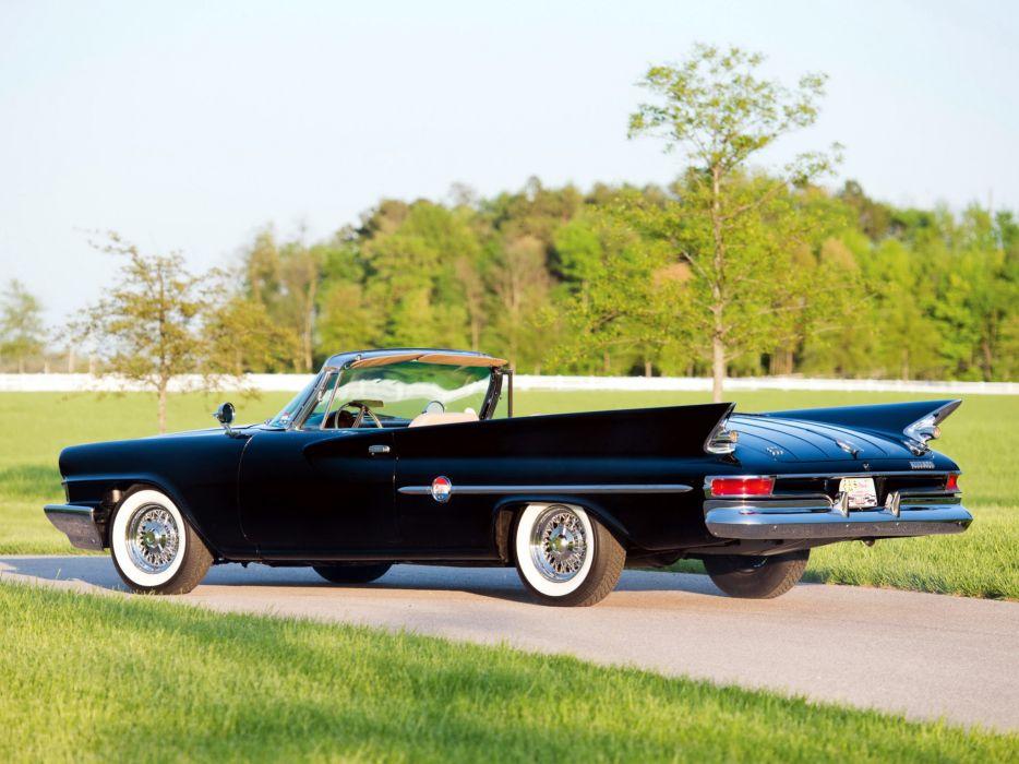 1961 Chrysler 300G Convertible luxury classic      d wallpaper