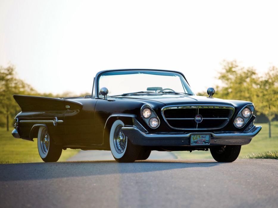 1961 Chrysler 300G Convertible luxury classic df wallpaper
