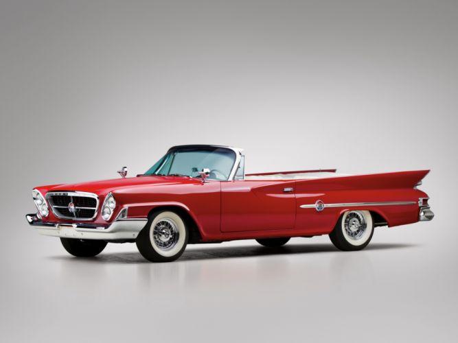 1961 Chrysler 300G Convertible luxury classic wallpaper