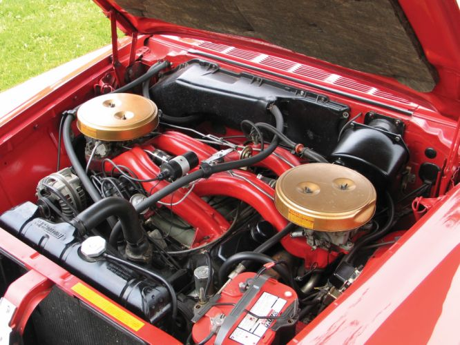 1961 Chrysler 300G Hardtop Coupe classic engine engines wallpaper
