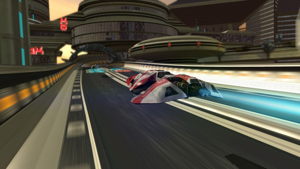 games futuristic wipeout science fiction       f wallpaper