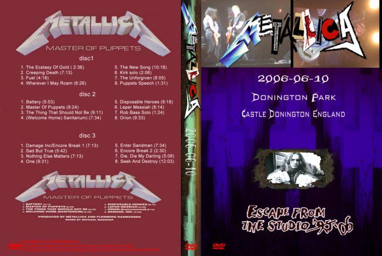 METALLICA thrash heavy metal tu wallpaper
