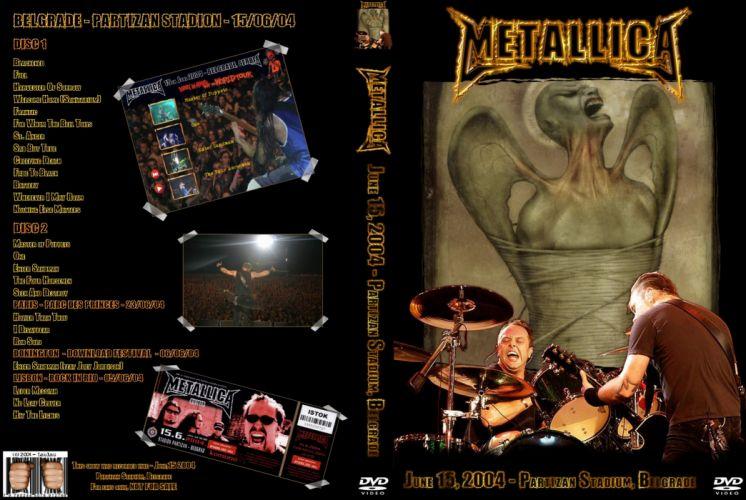 METALLICA thrash heavy metal w wallpaper