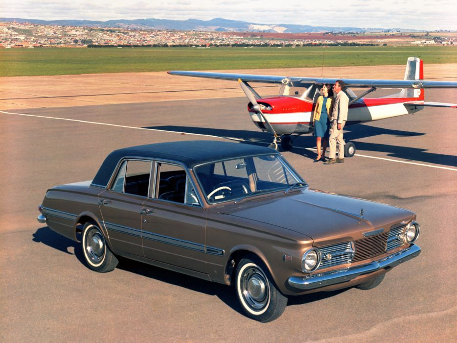 1965 Chrysler Valiant V-8 classic wallpaper
