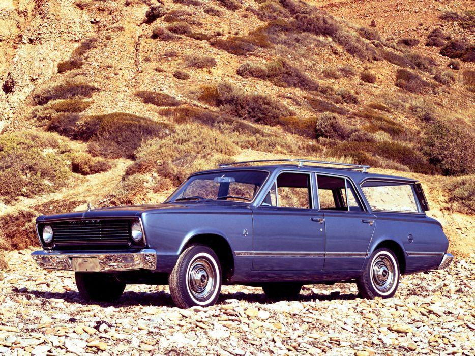 1967 Chrysler Valiant Safari stationwagon classic wallpaper