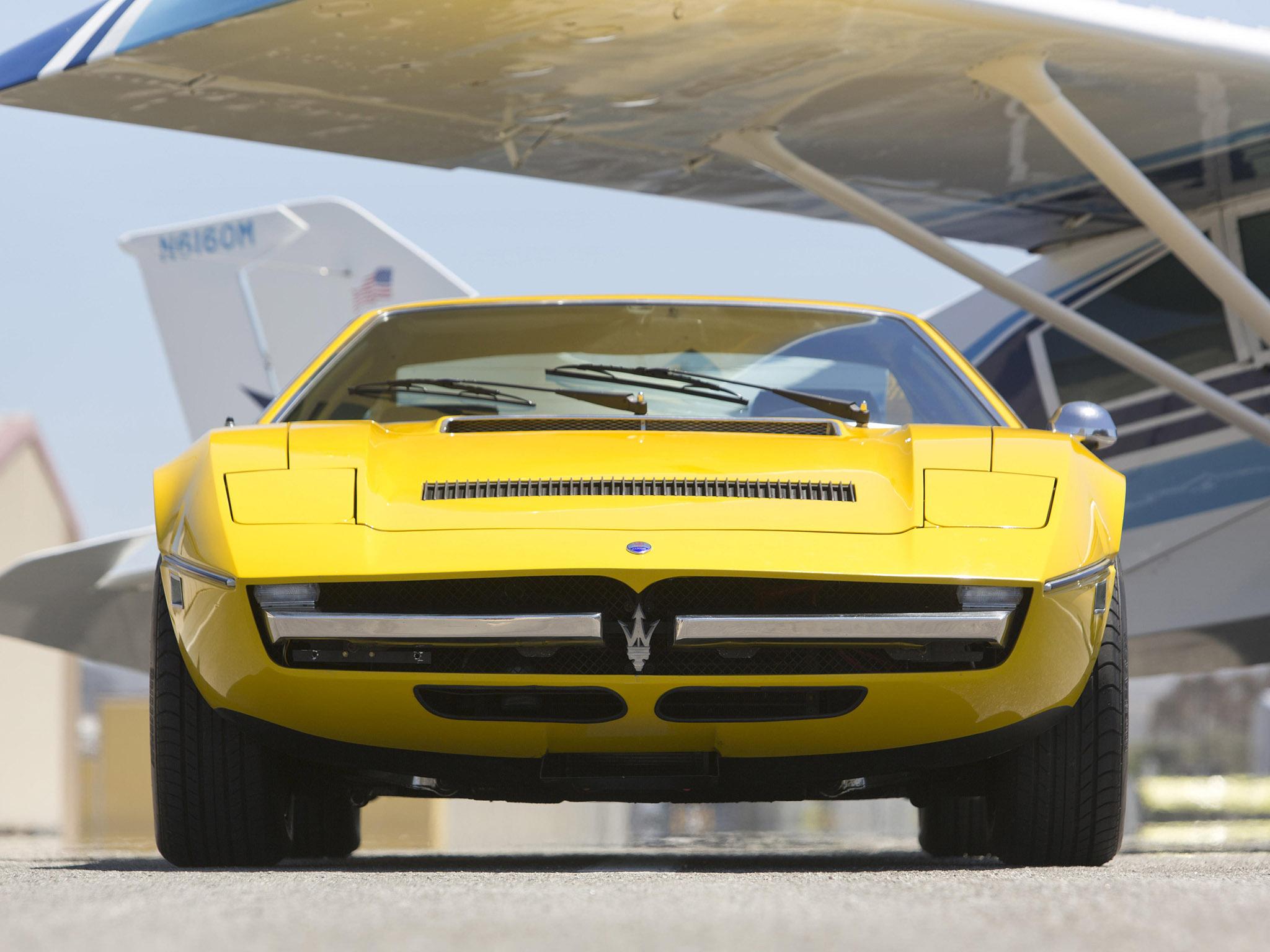 1973 Maserati Merak Usa Classic Supercar Supercars F