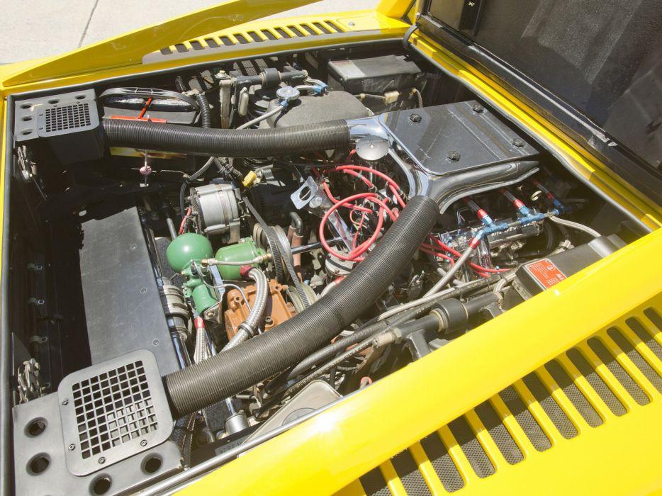 1973 Maserati Merak USA classic supercar supercars engine engines wallpaper