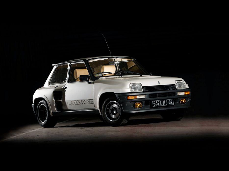 1981 Renault 5 Turbo Rally race racing classic  d wallpaper