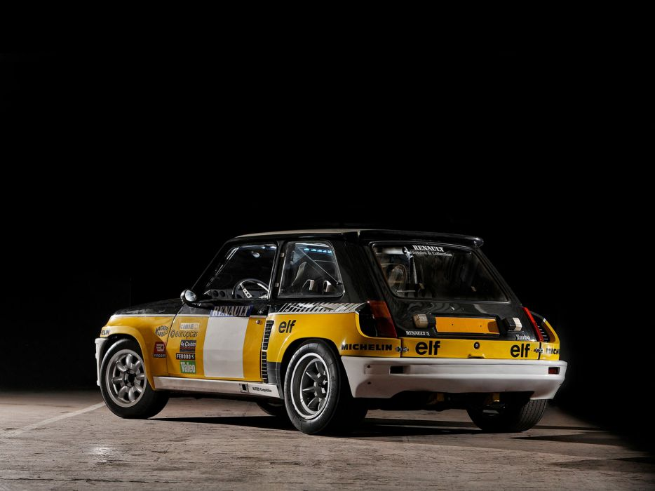 1981 Renault 5 Turbo Rally race racing classic wallpaper
