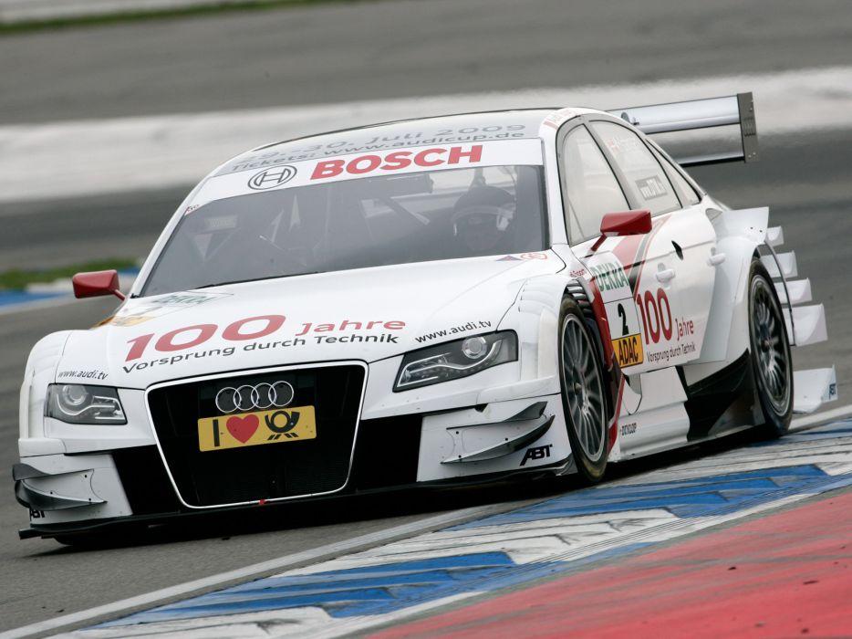2008 Audi A4 DTM race racing    gw wallpaper