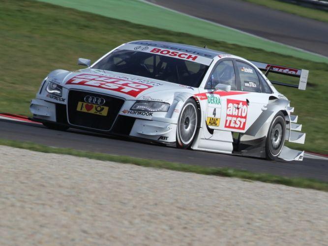 2008 Audi A4 DTM race racing g wallpaper